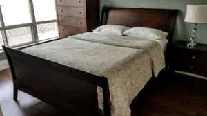 Elegant Queen Bed Frame