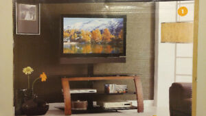 3 in 1 tv stand for up to 55 inch flat screens
