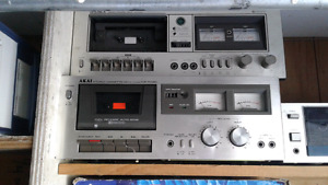 3 vintage stereo components