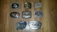 BELT BUCKLES - $10 each or any two for $15