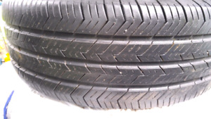 Honda Civic 2000 Tires on Rims