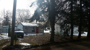 Quaint Cottage / Cabin with  30' Holiday Trailer - Alberta Beach