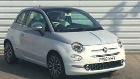 image for 2018 Fiat 500 1.2 Collezione 3dr Hatchback petrol Manual