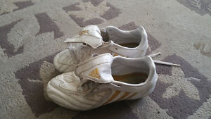 Size 3 Adidas soccer shoes