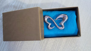 Silver New Butterfly Pin - for sale !