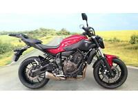 Yamaha MT-07A 2015** 1 Owner, 3551 Miles, All Keys**
