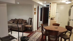 Room in Fully Furnished Basement Apartment for Rent