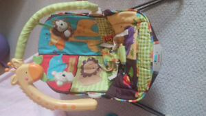 Fisher Price Bouncy Baby Chair with Jungle sounds