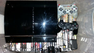 ps3 fat boy with lots of games