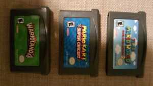 Game boy advance games super mario