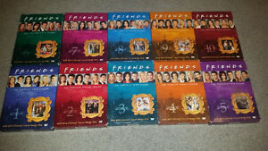 10 seasons of Friends and they come with a 10 day warranty.....