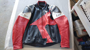 older Technic leather jacket great shap