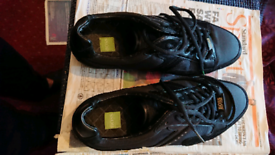 Genuine Hugo Boss Trainers Size 9 Leather