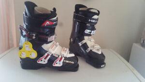 head ski boots size 8-9 mens