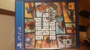 GTA 5 PS4 great condition