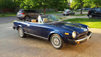 1980 Fiat Spider for sale. $8500 FIRM