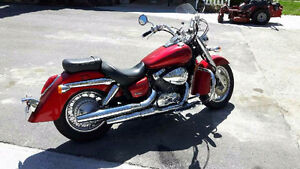 2008 Honda Shadow, very low mileage