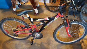 Child, Teenage or Small Adult Full Suspension Mountain Bike