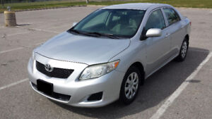 2010 TOYOTA COROLLA CE MANUAL--LOW KMS! ONLY 117KMS-- VERY CLEAN