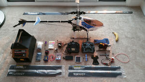 RC Helicopter TT Raptor 60 + Accessories