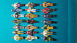 21 GI Joe Loose Figures