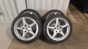 Porsche 997Carrera/987Cayman/Boxster OEM Wheels with tires