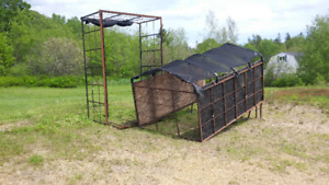 TRUCK CAGES TO FIT 8 FOOT BOX PICK UP TRUCKS