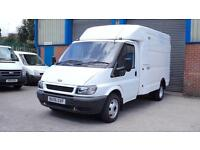 FORD TRANSIT 2006 350 MWB TD BOX VAN IN WHITE only done 78000