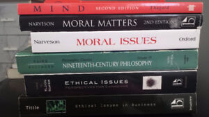 SELLLING: PHILOSOPHY AND FRENCH TEXTBOOKS + SCIENCE LAB SUPPLIES