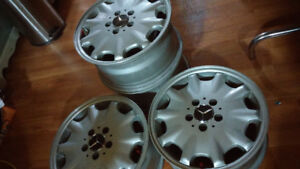 4 MAGS ORIGINAL MERCEDES 5x112 71/2X16 H2 MADE IN GERMANY