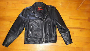 Ladies Motorcycle Jacket & Harley Davidson Boots