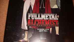 For sale, Fullmetal alchemist season one part two.