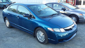 2011 Civic 4 Door ((LOW KMs)) NEW MVI Call or Text 209-9180