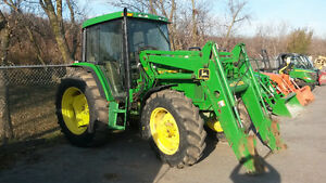 John Deere 6400 Cab Tractor with 640 Loader