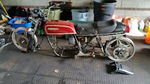 78 CB750F Parts/Project bike with Title