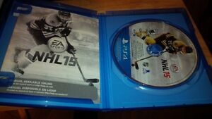 PS4 EA NHL 15 game complete works perfect