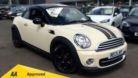 2013 Mini Coupe 1.6 Cooper 3dr Manual Petrol Coupe