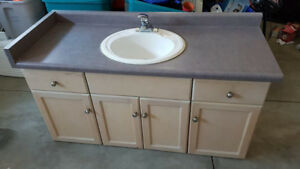 "48"" vanity with sink and tap"