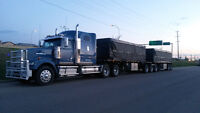 Western Star Flat deck Super B Truck and Trailer for Sale