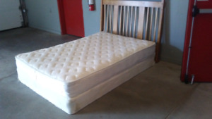 Delivered double bed