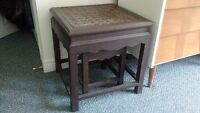 two nesting tables
