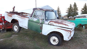 1963 ford 4x4 REDUCED TO 1800.00