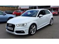 2014 Audi A3 1.6 TDI S Line S Tronic Automatic Diesel Hatchback