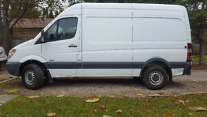 2011 High roof Sprinter Van, 144 wb, 2500. Sale by owner.