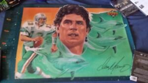 UPPER DECK Dan Marino Miami Dolphins NFL football promo poster