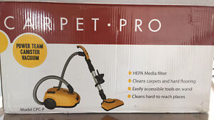 New in Box, Carpet Pro Canister Vacuum