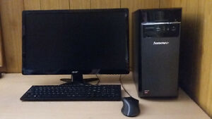 Lenovo H50-55 Tower with Acer (23in) Screen