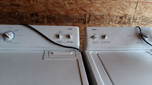 KENMORE 600 SERIES WASHER AND 600 SERIES DRYER