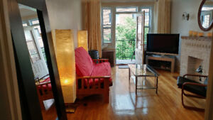 Spectacular furnished apartment with balcony near Snowdon metro