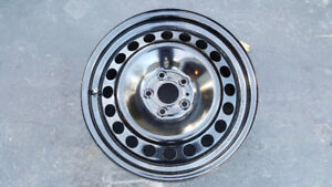 """Ford 17"""" Steel rims with TPMS"""